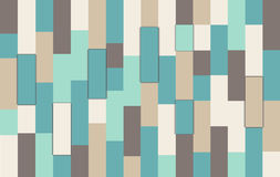 Vintage colorful wooden wall background Stock Photography