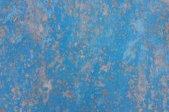 Vintage colorido velho azul rachado Fotos de Stock Royalty Free