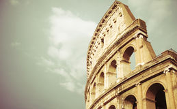 Vintage Colosseum in Rome Stock Photos