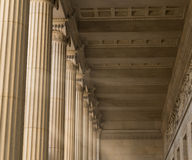 Vintage Columns Architecture Royalty Free Stock Photos