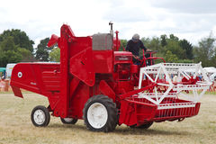 Vintage Combine Harvester Royalty Free Stock Photos