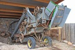Vintage Combine Harvester Royalty Free Stock Photo