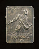 Vintage Commemorative Badge  intended for agricultural and indus Royalty Free Stock Images