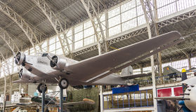 Vintage Commercial Airplane Royalty Free Stock Photos