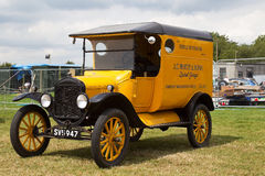 Vintage commercial lorry Stock Photo