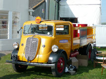 Vintage commercial vehicle at the Goodwood Revival. Vintage commercial vehicle at the 2008 Goodwood Revival held each September at Goodwood in West Sussex stock photo