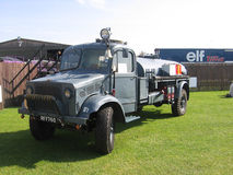 Vintage commercial vehicle at the Goodwood Revival. Stock Photo