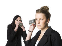 Vintage communication Stock Images