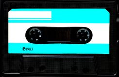Vintage compact cassette tape royalty free stock photos