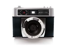 Vintage Compact Film Camera Vector Illustration Royalty Free Stock Image