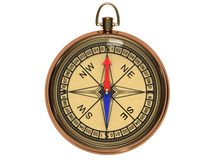 Vintage compass Stock Photography