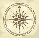 Vintage compass vector illustration