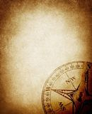Vintage compass background Stock Photo