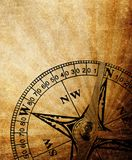 Vintage compass background Stock Photography