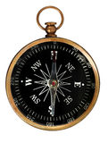 Vintage Compass With Clipping Path Royalty Free Stock Image