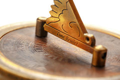 Vintage compass cover Royalty Free Stock Photo