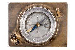 Vintage compass geologist Royalty Free Stock Image