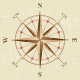 Vintage compass Stock Photo