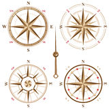 Vintage compass icons Royalty Free Stock Image