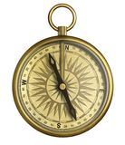 Vintage compass isolated 3d illustration vector illustration