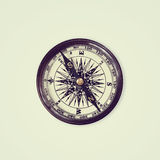Vintage compass  isolated on white background, Stock Images