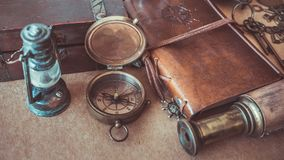 Vintage Compass Lamp Lighting Maritime Nautical Navigation Photos. Vintage Compass Lamp Lighting Maritime Nautical Navigation Pirate Collection Photos royalty free stock images