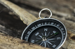 Vintage Compass Stock Photo