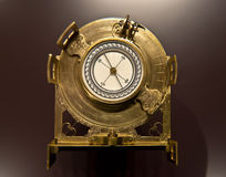 Vintage compass. Old compass, mathematics and physics salon, Dresden, Germany Royalty Free Stock Photos