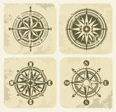 Vintage compasses Stock Image