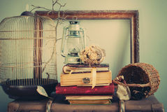 Vintage Composition in Pastel colors royalty free stock photo