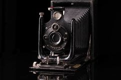 Vintage compur camera stock photo