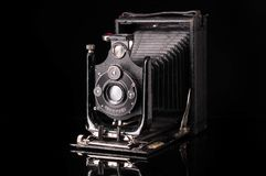 Vintage compur camera 1939 year release royalty free stock photography
