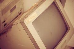 Vintage computer Stock Photo