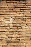 Vintage concept background of closeup old brick wall. Vertical style Royalty Free Stock Photos