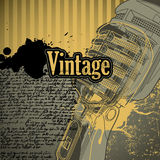 Vintage conceptual background Royalty Free Stock Photo