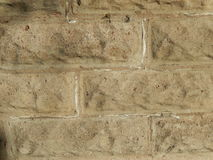 Vintage concrete building block wall background image Stock Images
