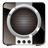 Vintage consumer electronics, audio speaker Royalty Free Stock Image