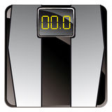Vintage consumer electronics - personal floor scale Stock Photography