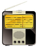 Vintage consumer electronics, radio Stock Images