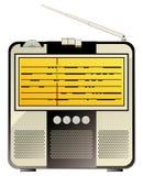 Vintage consumer electronics, radio Stock Image