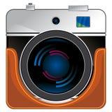Vintage consumer electronics-slr camera Stock Images