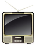 Vintage consumer electronics -tv set Stock Photography