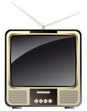 Vintage consumer electronics -tv set Stock Photography