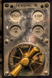 Vintage Control Board Royalty Free Stock Photo