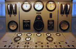 Vintage control panel Stock Photos