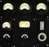 Vintage Control Panel Royalty Free Stock Photography