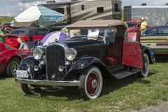 Vintage convertible car Stock Photo