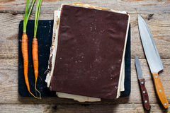 Vintage cook book Royalty Free Stock Photography