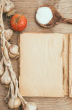 Vintage cookbook Royalty Free Stock Images