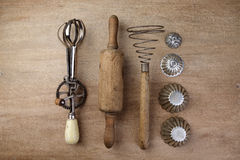Vintage Cooking Utensils Royalty Free Stock Images